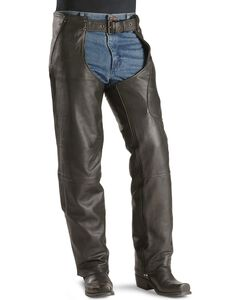 Milwaukee Gunslinger Leather Chaps, , hi-res