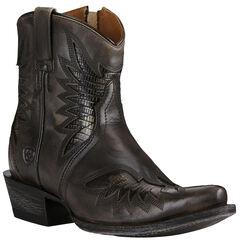 Ariat Women's Naturally Charcoal Santos Boots - Snip Toe, , hi-res