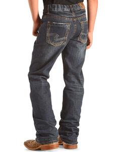 Silver Jeans Boys' Zane Boot Cut Jeans, , hi-res