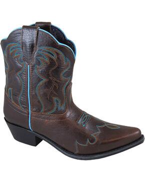 Smoky Mountain Women's Dark Brown Juniper Western Boots - Snip Toe, Dark Brown, hi-res