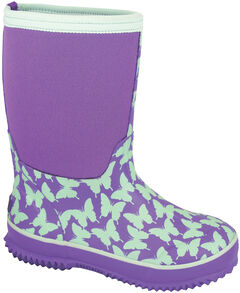Smoky Mountain Toddler Girls' Butterfly Waterproof Boots, , hi-res