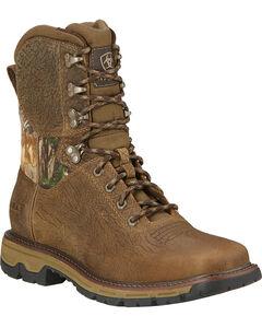 """Ariat Men's 8"""" Conquest Waterproof Hunting Boots, , hi-res"""