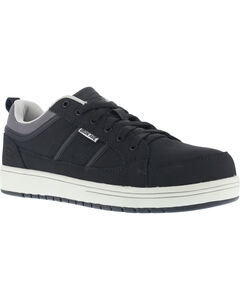 Iron Age Men's Skate Style Oxford Shoes - Steel Toe , , hi-res