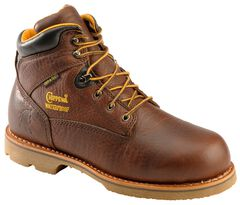 """Chippewa Waterproof & Insulated 6"""" Lace-Up Work Boots - Round Toe, , hi-res"""