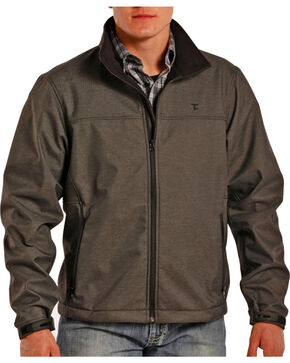 Tuf Cooper Men's Softshell Bonded Jacket, Black, hi-res