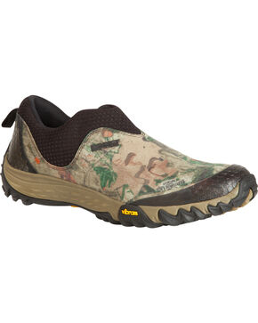 Rocky Men's Silenthunter Oxford Hunting Mocs, Mossy Oak, hi-res