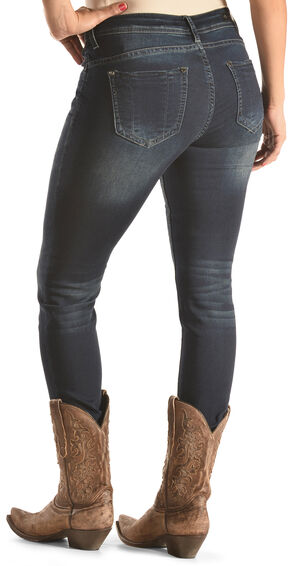 Grace in LA Women's Easy Fit Skinny Jeans , Indigo, hi-res