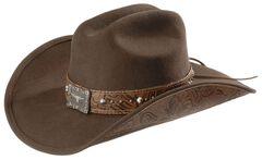 Bullhide Great Divide Wool Cowgirl Hat, , hi-res