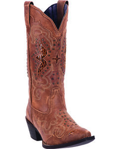 Laredo Women's Valencia Cowgirl Boots - Snip Toe, , hi-res