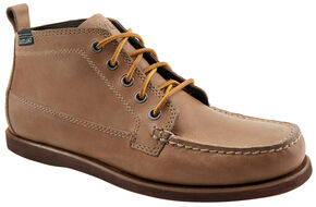 Eastland Men's Natural Suede Seneca Camp Moc Chukka Boots, Natural, hi-res