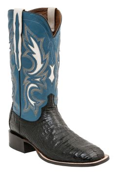 Lucchese 1883 Shiloh Caiman Belly Cowboy Boots - Square Toe, , hi-res