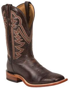 Tony Lama Rust Raven Americana Cowboy Boots - Square Toe , , hi-res
