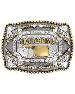 Cody James Oklahoma Belt Buckle, , hi-res