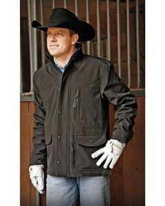STS Ranchwear Men's Brazos Black Barn Jacket, , hi-res