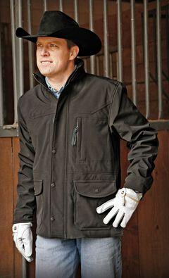 STS Ranchwear Men's Brazos Black Jacket - Big & Tall - 4XL, , hi-res