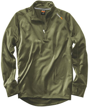 Timberland PRO Men's Green Understory Fleece Top , Green, hi-res
