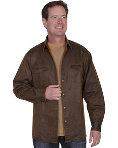 Scully Men's Moleskin Overshirt, , hi-res