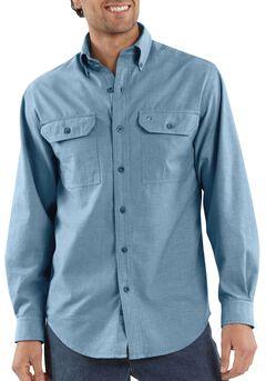 Carhartt Fort Long Sleeve Work Shirt - Big & Tall, , hi-res