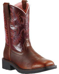 Ariat Krista Pull-On Work Boots - Steel Toe, , hi-res