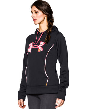 Under Armour Women's UA Storm Caliber Camo Hoodie, , hi-res