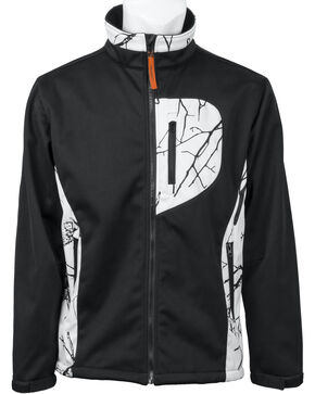 Trail Crest Women's Custom XRG Softshell Jacket, Black, hi-res