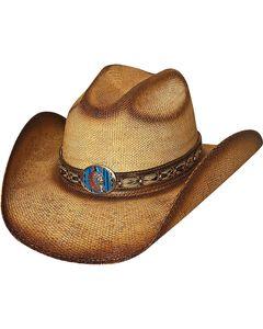 Bullhide Red Cloud Bangora Straw Cowgirl Hat, , hi-res