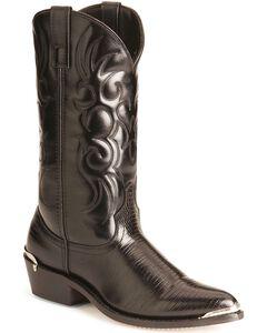 Laredo Lizard Print Cowboy Boots, , hi-res