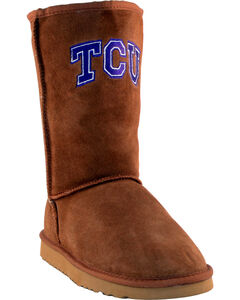 Gameday Boots Women's Texas Christian University Lambskin Boots, , hi-res