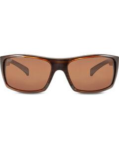 Hobie Men's Satin Brown Wood Grain Baja Polarized Sunglasses  , , hi-res