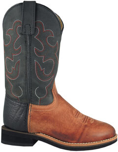 Smoky Mountain Toddler Boys' Seminole Western Boots - Round Toe, , hi-res