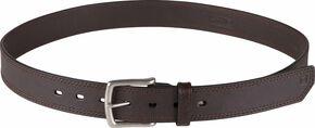 5.11 Tactical Arc Leather Belt (2XL-4XL), Brown, hi-res