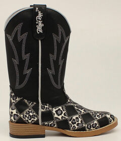 Blazin Roxx Youth Girls' Miley Patchwork Boots - Square Toe, , hi-res