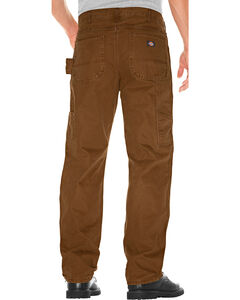 Dickies Men's Relaxed Fit Double Front Duck Carpenter Pants, , hi-res
