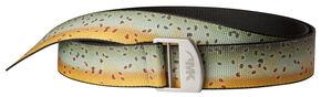 Mountain Khakis Trout Webbing Belt  , Brown, hi-res