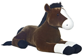 Aurora Legend the Horse Plush Toy , Brown, hi-res