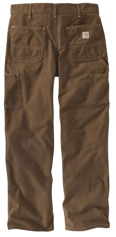 Carhartt Flame Resistant Washed Duck Work Pants - Big & Tall, , hi-res