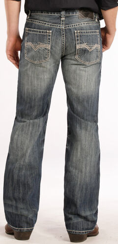 Rock and Roll Cowboy Pistol Fit Flat Seam Jeans - Straight Leg , , hi-res