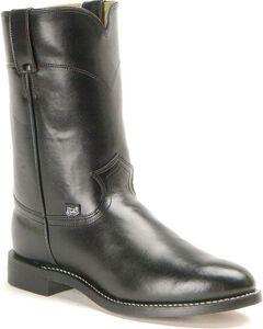 Justin Basics Roper Cowboy Boots, , hi-res