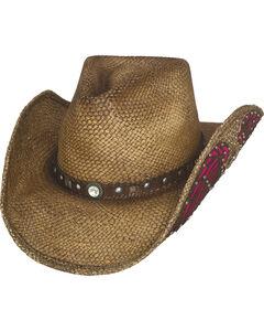 Bullhide Western Inspiration Straw Cowboy Hat, , hi-res