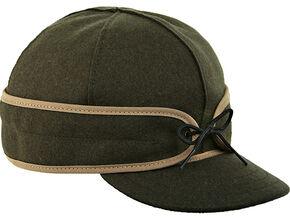 Stormy Kromer Men's Olive Original Cap, Olive, hi-res