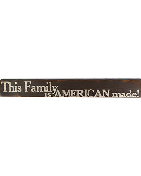 Boulder Innovations American Made Family Wood Sign, No Color, hi-res