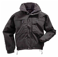 5.11 Tactical 5-in-1 Jacket - 3XL and 4XL, Black, hi-res