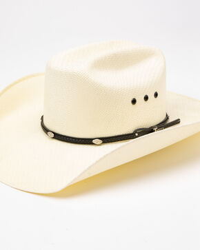Twister Men's Natural Ivory 5X Shantung Hat , Ivory, hi-res