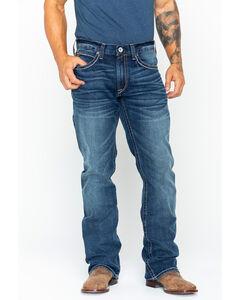 Ariat Men's M4 Quarterline Low Rise Boot Cut Jeans, , hi-res