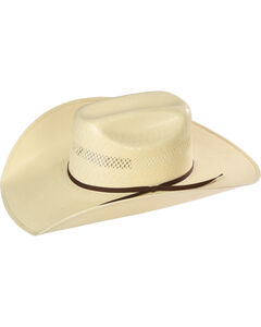 Resistol Men's Rock Creek Promo Straw Hat, , hi-res