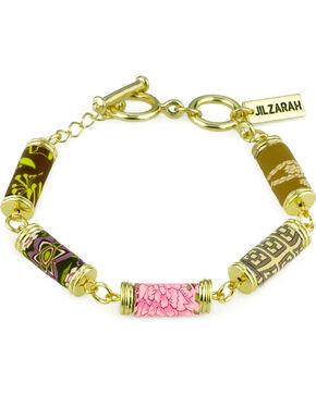 Jilzarah Prairie Tube Bead Gold Bracelet, Prairie, hi-res