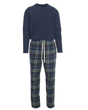 Woolrich Men's Fireside Flannel Pajama Set, Blue, hi-res