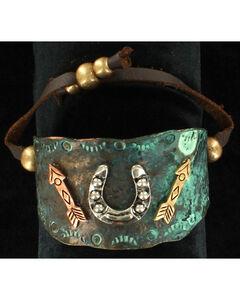 Blazin Roxx Horseshoe and Arrows Bracelet, , hi-res