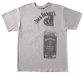 Jack Daniel's Tennessee Whiskey Bottle T-Shirt, Grey, hi-res