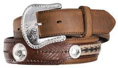 Tony Lama Duke Leather Belt, , hi-res